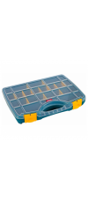 ORGANISER BOX CLEAR LID 21 WAY 32X26CM