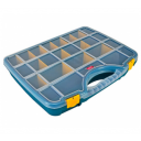 ORGANISER BOX CLEAR LID 26 WAY 48X38CM