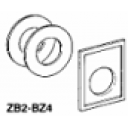 TE ZB2 BZ4 ADAPTOR PLATE 30MM- 22MM