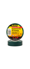SCOTCH 35 ELECT.TAPE GREEN 19MM X 20M