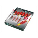SCREWDRIVER SET 7 PIECE WERA + LOW VOLTAGE TESTER